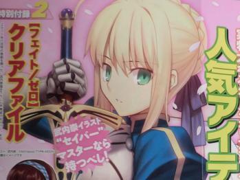 ヤングエース 2012年 3月号 Fate関連  (3)
