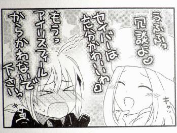 マジキュー4コマ FateZero 四コマ聖杯戦争 4巻 (13)