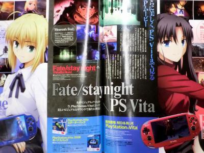 月刊ニュータイプ 2013年 1月号 Fate関連 (3)