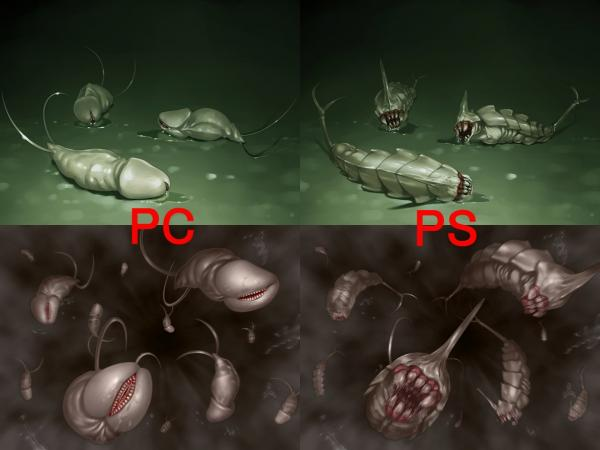 間桐の蟲 比較