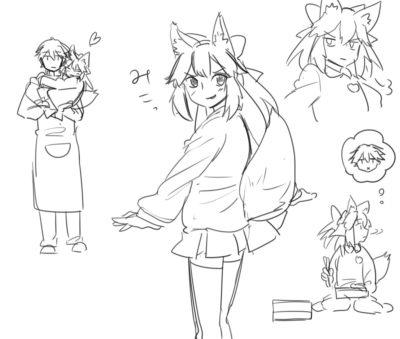 ロリキャス狐とオジマンくん (1)