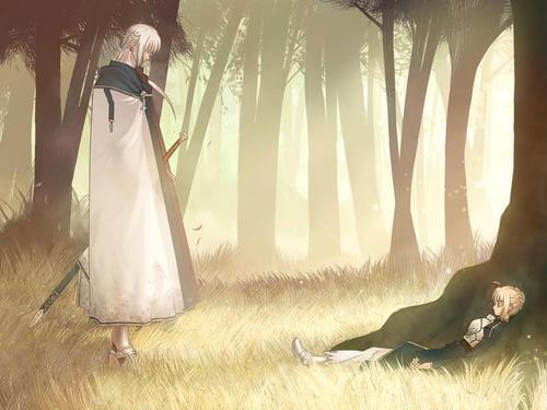 【Fate】魔境だぜブリテン!円卓の騎士の高すぎるスペックに食らい付くベディヴィエール