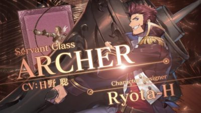 『Fate/Grand Order』第二部クラス別TVCMで新サーヴァント「アーチャー」のCM公開!