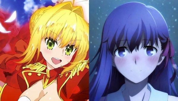 【Fate】雪の中の間桐桜とガウェインと並び立つネロちゃまが描き下ろしのピンナップポスターとなってニュータイプ2018年6月号に登場!