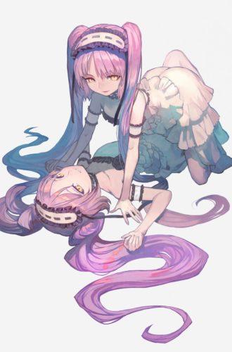 【Fate】lackさんによる華奢で魅力的なステンノ、エウリュアレ姉妹