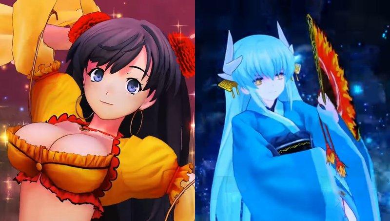 【FGO】『Fate/Grand Order Arcade』に清姫とマタ・ハリが参戦